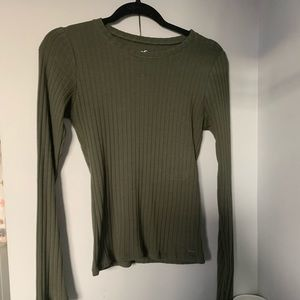 Hollister Slim Fit Ribbed Long Sleeve